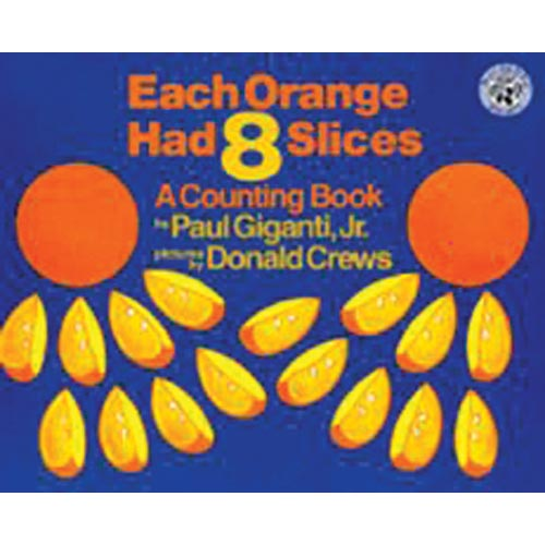 Each Orange Had 8 Slices - Paperback