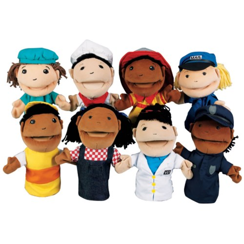 Occupation Puppets (Set of 8)