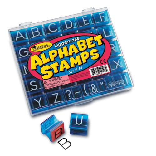 Uppercase Stamp Set