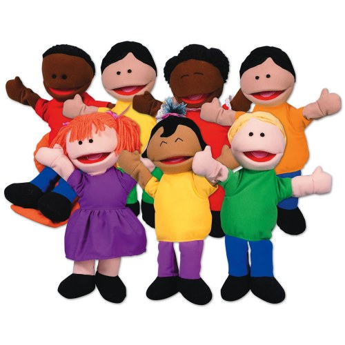 Kaplan Kids Puppets - Set of 7