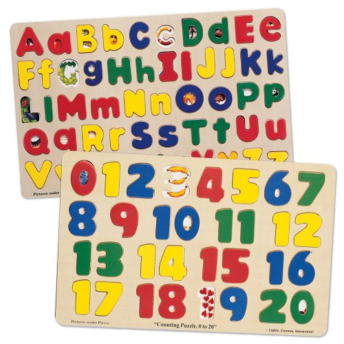 Numbers Amp Abc Puzzles