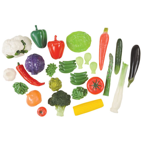 Vegetable Set in Container - 28 Pieces