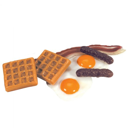 Alternate Image #8 of Life-size Pretend Play Breakfast, Lunch and Dinner Meal Sets