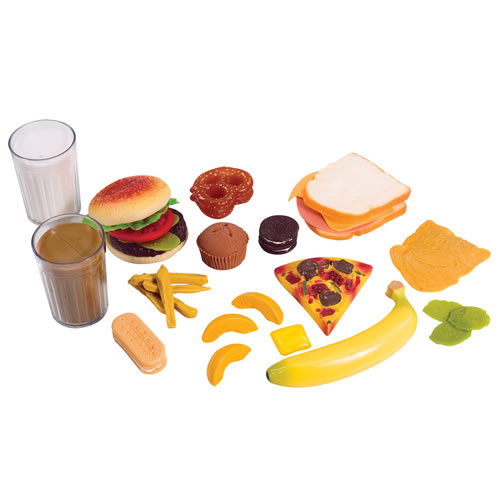 Alternate Image #2 of Life-size Pretend Play Breakfast, Lunch and Dinner Meal Sets