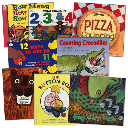 Math Is Fun Book Set (Set of 8)