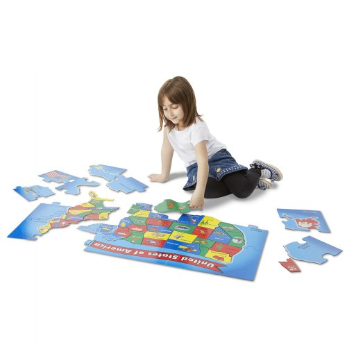 Alternate Image #9 of World & US Floor Puzzles
