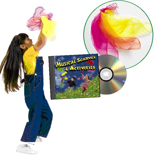 Musical Scarves Activity Kit