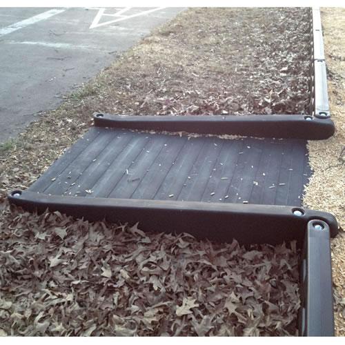Ada wheelchair accessible ramp for Kaplan floor planner