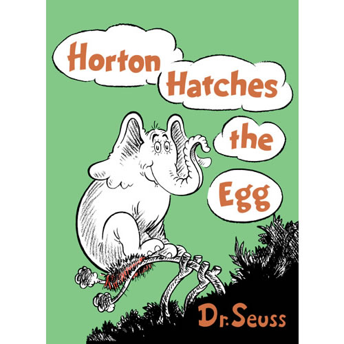 Horton Hatches the Egg - Hardcover
