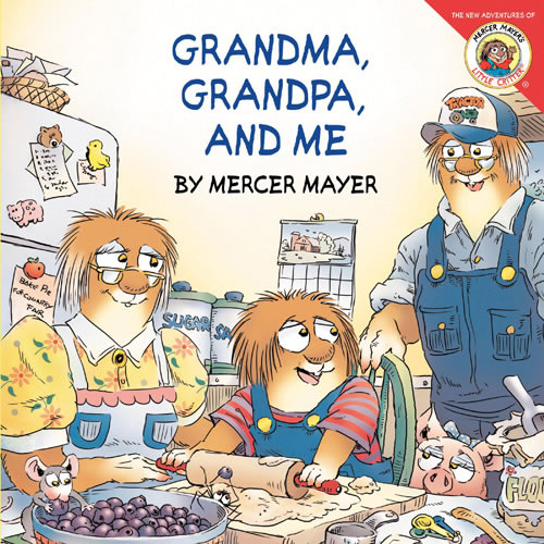 Grandma, Grandpa, and Me - Paperback