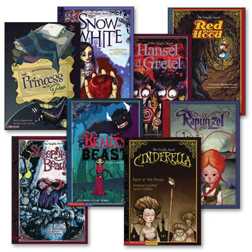 Graphic Spin Books - Set of 8