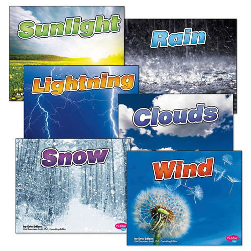 Weather Basics Books - Set of 6