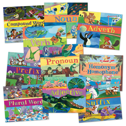 Word Fun Books Set 1 - Set of 10
