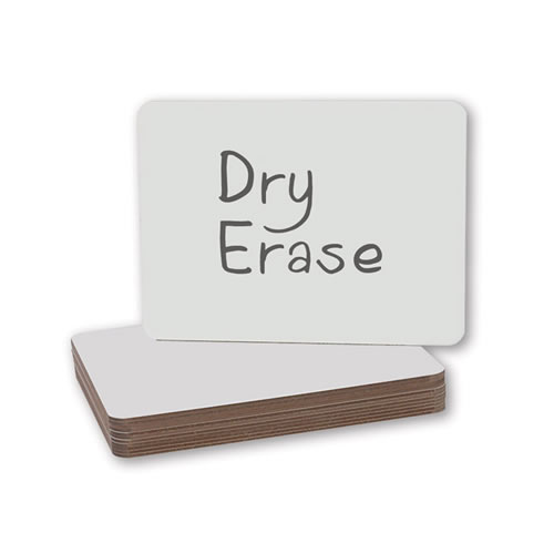Classroom Dry Erase Boards - Set of 12