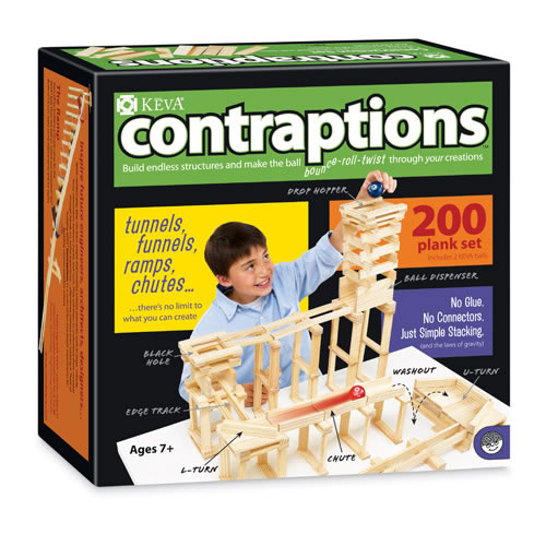 Alternate Image #1 of KEVA® Contraptions 200 Plank Set