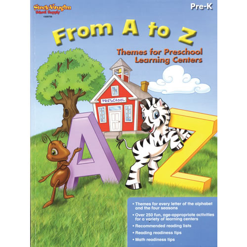 From A to Z: Themes for Preschool Learning Centers - Paperback
