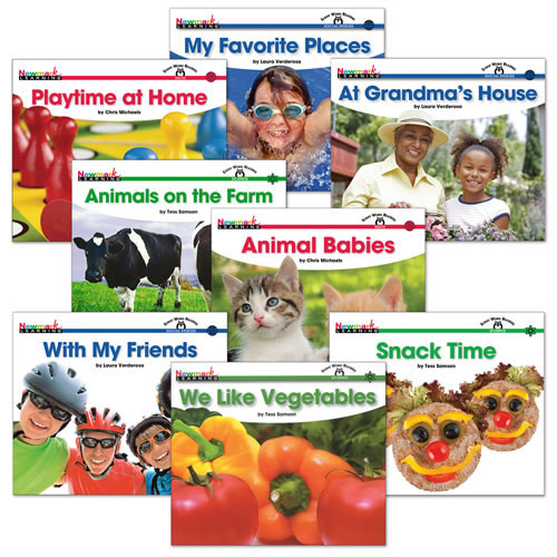 Step 3 Sight Word Book Set (Set of 8)