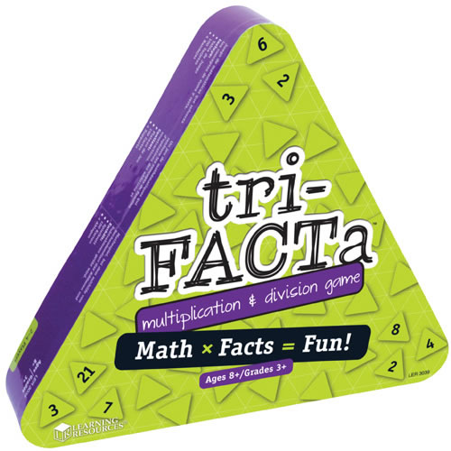 Alternate Image #2 of tri-FACTa™ Multiplication & Division Game