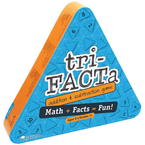 Alternate Image #1 of tri-FACTa™ Addition & Subtraction Game