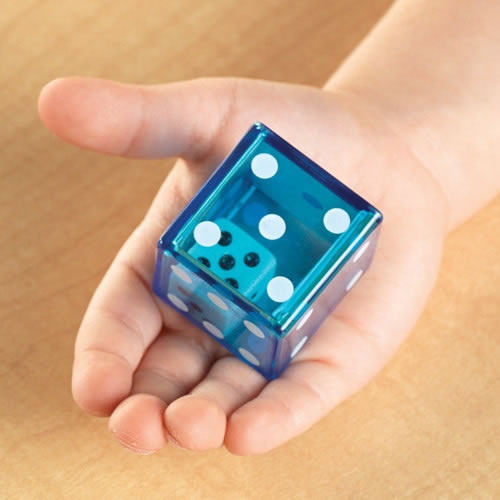 Alternate Image #1 of Jumbo Dice in Dice Set (Set of 12)