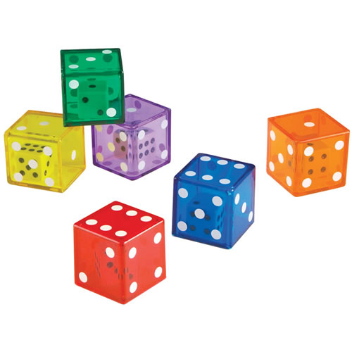Alternate Image #2 of Jumbo Dice in Dice Set (Set of 12)