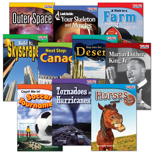 TIME FOR KIDS® Grade 2 Nonfiction Reader Sets