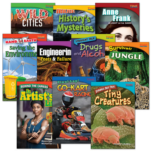 TIME FOR KIDS® Grade 4 Nonfiction Reader Sets