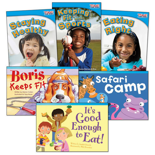 Healthy & Fit Books - Set of 6