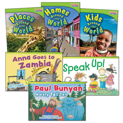 Around the World Books - Set of 6