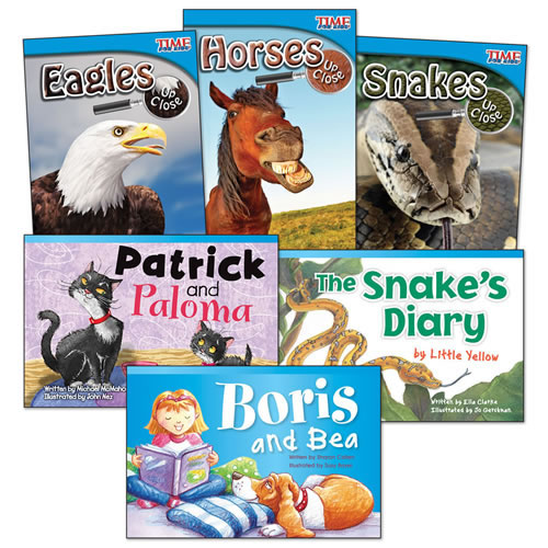 Animal Species Books - Set of 6