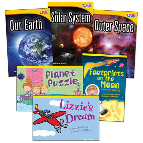 Space Adventures Books - Set of 6