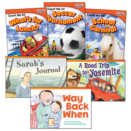 Count of Math Books - Set of 6