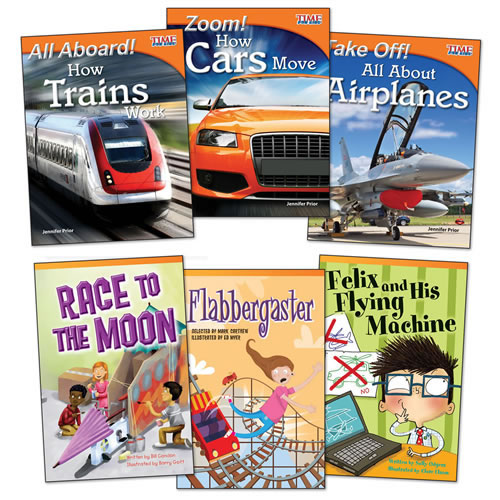 How Things Work Books - Set of 6