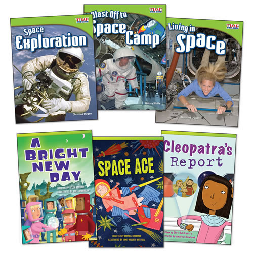 Blast into Space Books - Set of 6