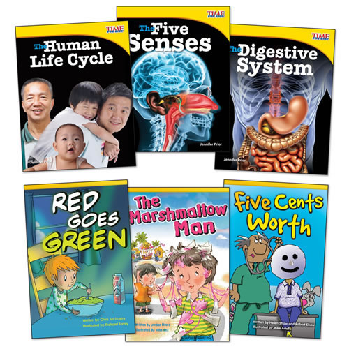 How Our Body works Books - Set of 6