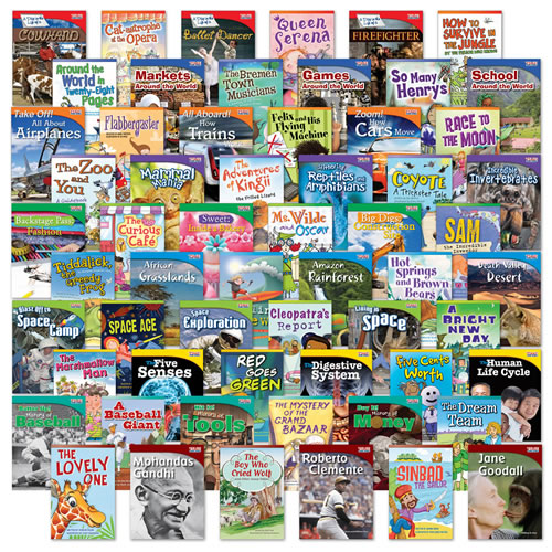 Fiction/Nonfiction Fluent 60-Book Set