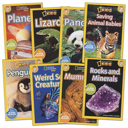 National Geographic Readers - Level 2 - Set of 8
