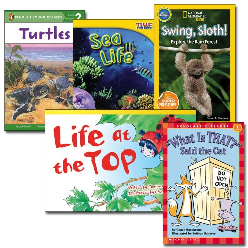 Classroom Leveled Library Books - Level F - Set of 29