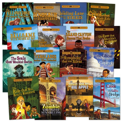 Field Trip Mysteries Book Set (Set of 16)