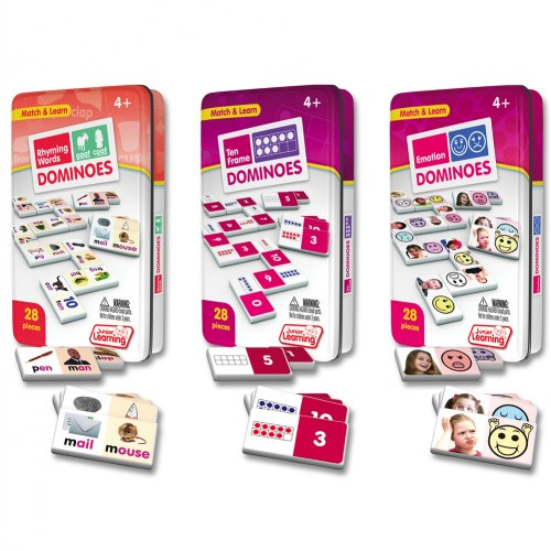 Learning Dominoes - Set of 3