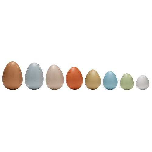 Size Sorting Eggs - Set of 8