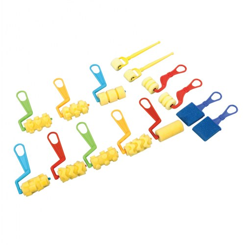 Foam Brushes And Roller Set