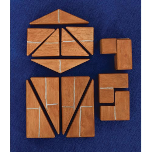 Unit Bricks® Angles & Corners (16 Pieces)