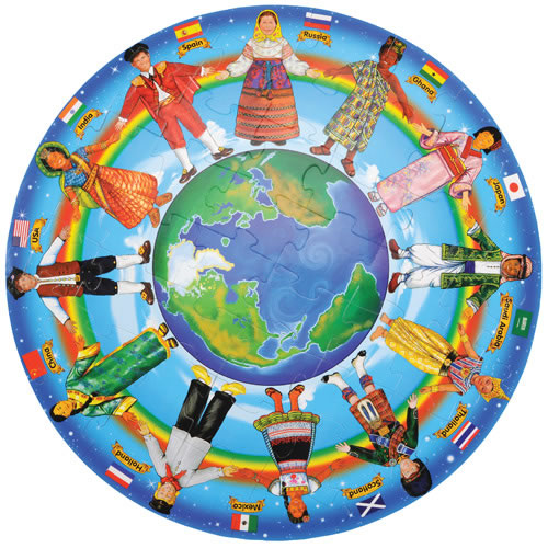 Children of the World 48 Piece Floor Puzzle