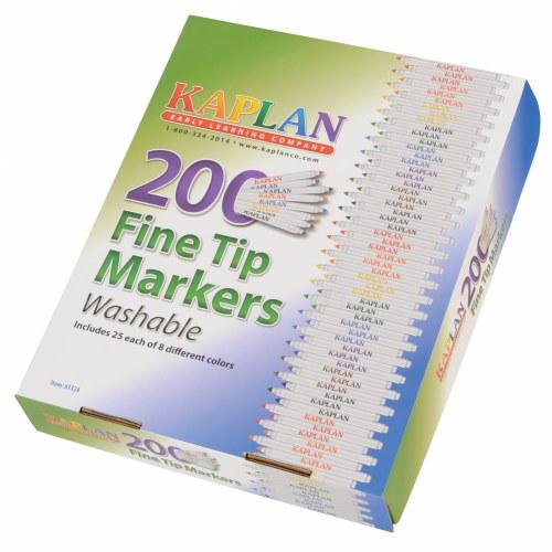Fine tip marker class pack 200 per box for Kaplan floor planner