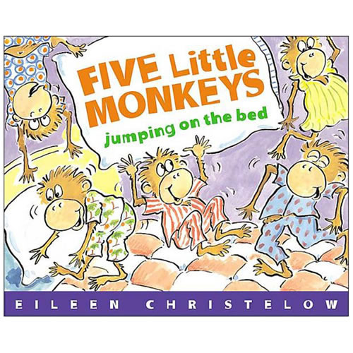 Five Little Monkeys Jumping On The Bed - Paperback