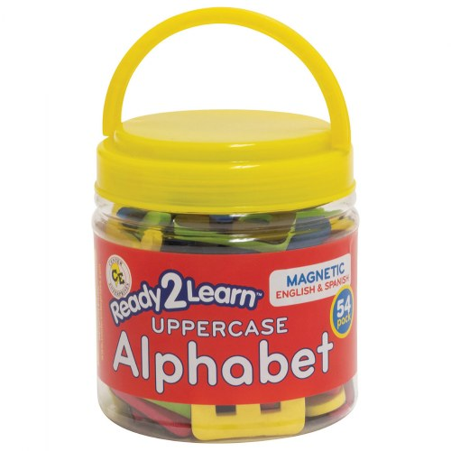 Alternate Image #1 of Bilingual Magnetic Foam Alphabets