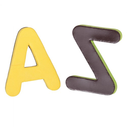 Alternate Image #3 of Bilingual Magnetic Foam Alphabets