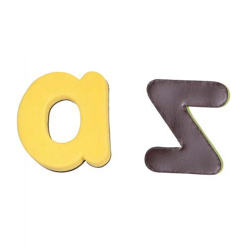 Alternate Image #7 of Bilingual Magnetic Foam Alphabets