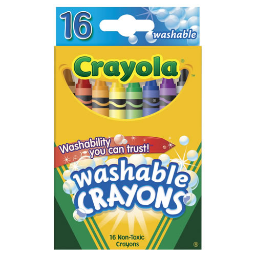 Crayola® 16-Count Standard Washable Crayons